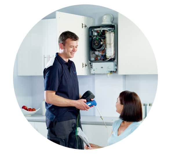 As Standard Our Boiler Service Includes