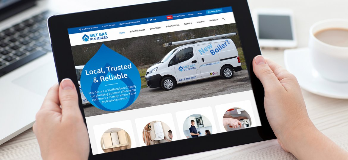 Met Gas Plumbers Website