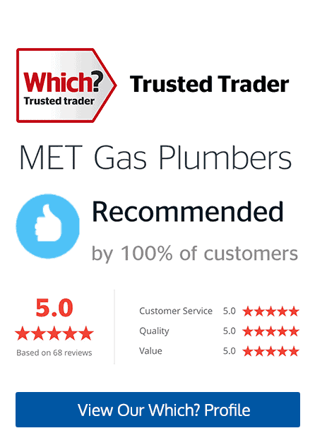Which? Trusted Trader Met Gas Plumbers